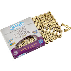 KMC X-10 SL Bicycle Chain gold